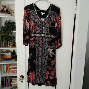 Monsoon embroidered floral dress